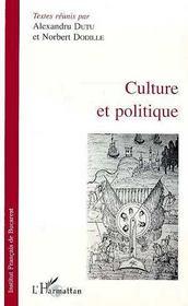 Culture Et Politique - Intérieur - Format classique