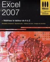 Excel 2007 - Intérieur - Format classique