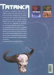 Tatanka t.2 ; contamination - 4ème de couverture - Format classique
