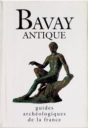 Guides archéologiques de la France ; Bavay antique - Intérieur - Format classique