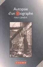 Autopsie D Un Biographe - Couverture - Format classique
