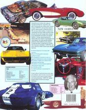 Corvette de 1953 a nos jours - 4ème de couverture - Format classique