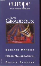 Europe Jean Giraudoux N841 - Couverture - Format classique