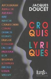 Croquis lyriques - Intérieur - Format classique