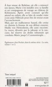 La catin t.3 ; le testament de la catin - 4ème de couverture - Format classique