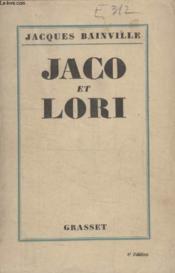 Jaco Et Lori. - Couverture - Format classique