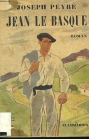 Jean Le Basque. - Couverture - Format classique