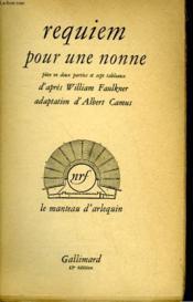 Requiem Pour Une Nonne. - Couverture - Format classique