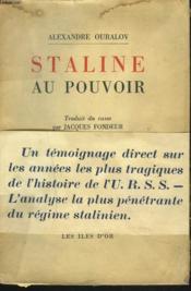Staline Au Pouvoir - Couverture - Format classique