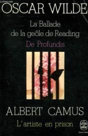 La Ballade De La Geole De Reading Suivi De - De Profundis - Couverture - Format classique