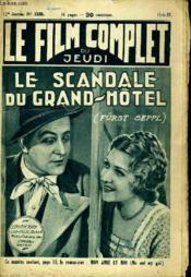 Le Film Complet Du Jeudi N° 1339 - 12e Annee - Le Scandale Du Grand-Hotel - Couverture - Format classique