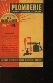 Plomberie-Soudure - Tolerie-Etamge - N°4 - Couverture - Format classique