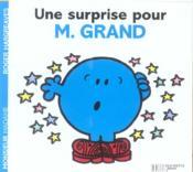 Une surprise pour Monsieur Grand - Couverture - Format classique