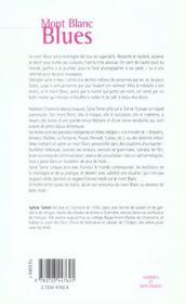 Mont Blanc blues - 4ème de couverture - Format classique