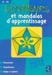 Graphismes et mandalas d'apprentissage ; CP, CE1 - Intérieur - Format classique