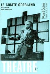 Revue L'Avant-Scene Theatre ; Le Comte Oderland - Couverture - Format classique