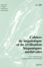 Cahiers de linguistique et de civilisation hispaniques - Couverture - Format classique