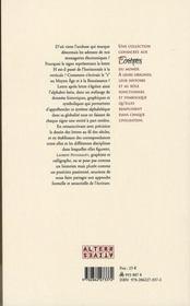 Lettres latines ; rencontre avec des formes remarquables - 4ème de couverture - Format classique