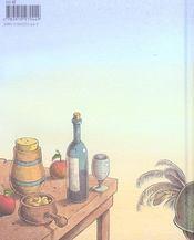 Trois contes gourmands - 4ème de couverture - Format classique