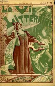 Pierre. La Vie Litteraire. - Couverture - Format classique