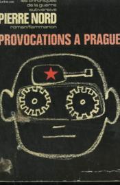 Provocations A Prague. - Couverture - Format classique