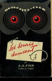 Les Souris Dansent. Collection Detective Club N° 37 - Couverture - Format classique