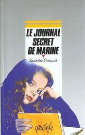 Le Journal Secret De Marine - Intérieur - Format classique