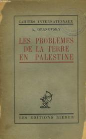 Les Problemes De La Terre En Palestine - Couverture - Format classique
