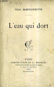 L'Eau Qui Dort. - Couverture - Format classique