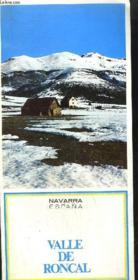 Plaquette / Navarre - Espana - Valle De Roncal - Couverture - Format classique