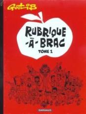 Rubrique-a-brac - tome 1 - rubrique-a-brac - tome 1 - Couverture - Format classique