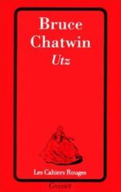 Utz - Couverture - Format classique