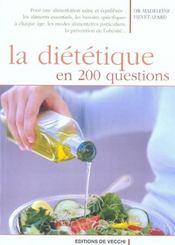 Dietetique En 200 Questions (La) - Intérieur - Format classique