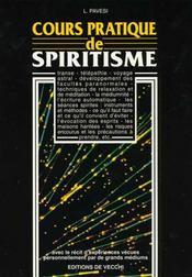 Cours Pratique De Spiritisme - Intérieur - Format classique