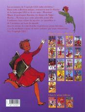 Lili t.17 ; Lili en Espagne - 4ème de couverture - Format classique