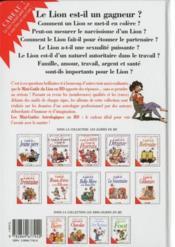 Les mini-guides en bd t.9 ; le mini-guide astro du lion - 4ème de couverture - Format classique