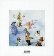 Capucine au pays des rêves - 4ème de couverture - Format classique