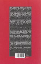La traversee du livre - 4ème de couverture - Format classique
