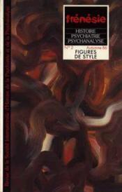 Figures de style - revue n a 2 - Couverture - Format classique