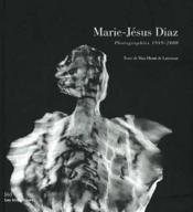 Marie-Jesus Diaz (Photo.1989/2000) - Couverture - Format classique
