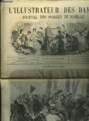 L'Illustrateur Des Dames - Journal Des Soirees De Famille N°16 1re Annee - Couverture - Format classique