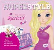 Superstyle blonde ; bloc à dessin récréatif - Couverture - Format classique