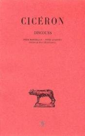 Discours t.18 - Couverture - Format classique