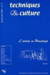 Revue Techniques Et Cultures N.37 ; L'Araire En Himalaya - Couverture - Format classique