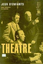 Revue L'Avant-Scene Theatre ; Jeux D'Enfants - Couverture - Format classique