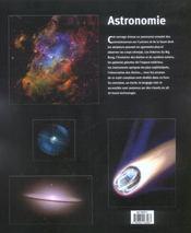 Astronomie - 4ème de couverture - Format classique