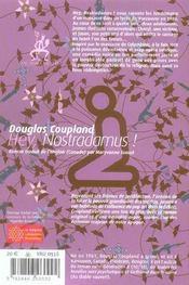 Hey, Nostradamus - 4ème de couverture - Format classique