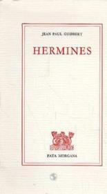 Hermines - Couverture - Format classique