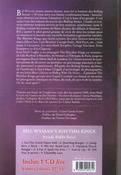 Bill wyman - steady rollin'man - cd offert - 4ème de couverture - Format classique