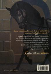 Joséphine de Lavalette - 4ème de couverture - Format classique
